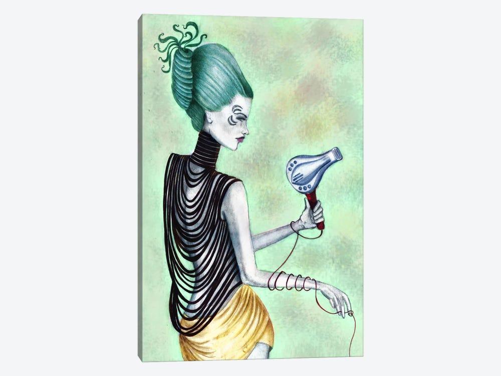 Beauty Blowout by Jami Goddess 1-piece Canvas Wall Art