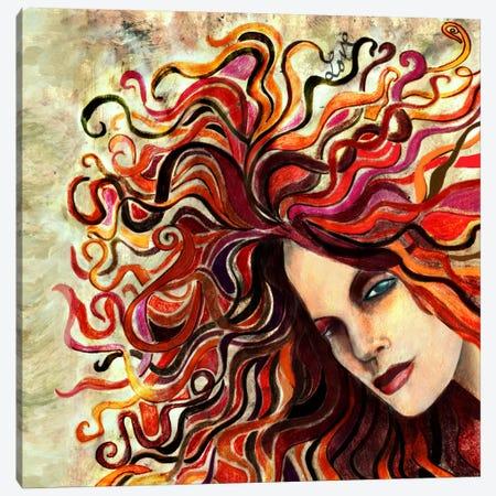 Lauren Canvas Print #JMI30} by Jami Goddess Canvas Art Print