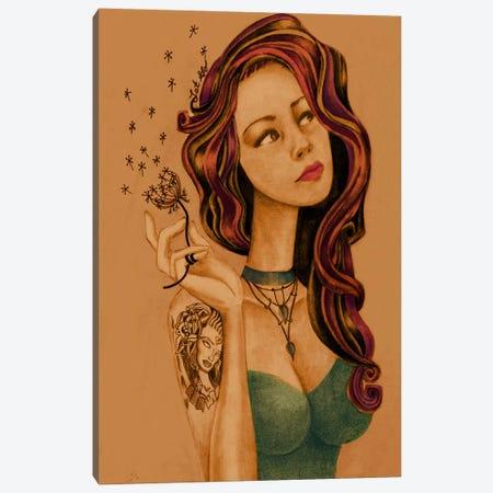 Let It Go Canvas Print #JMI33} by Jami Goddess Canvas Print
