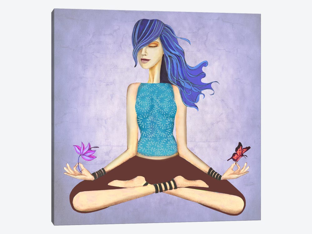 Lotus by Jami Goddess 1-piece Canvas Print