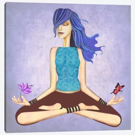 Lotus Canvas Print #JMI36} by Jami Goddess Canvas Wall Art