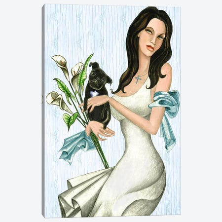 Maria And Lulu Canvas Print #JMI37} by Jami Goddess Canvas Wall Art
