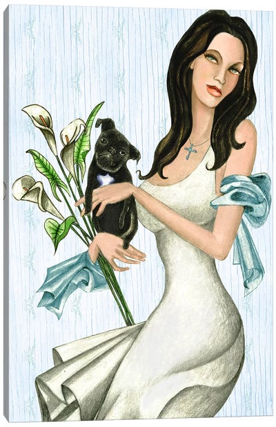 Maria And Lulu Canvas Art Print