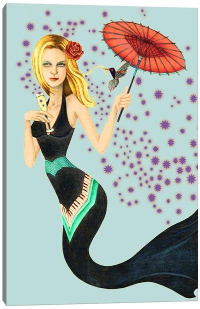 Mermaid Canvas Print #JMI38