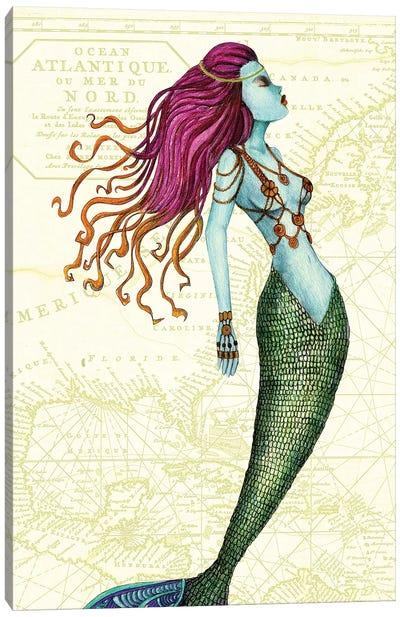 Mermaid II Canvas Print #JMI39