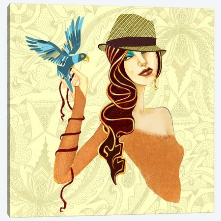 Bird Canvas Print #JMI3} by Jami Goddess Canvas Art Print