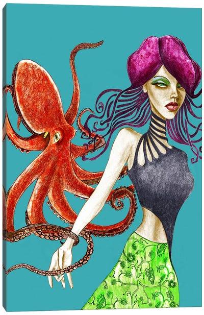 Octopus Canvas Print #JMI42