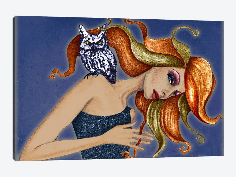 Owl I by Jami Goddess 1-piece Art Print