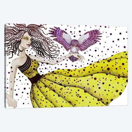 Owl II Canvas Print #JMI44} by Jami Goddess Art Print