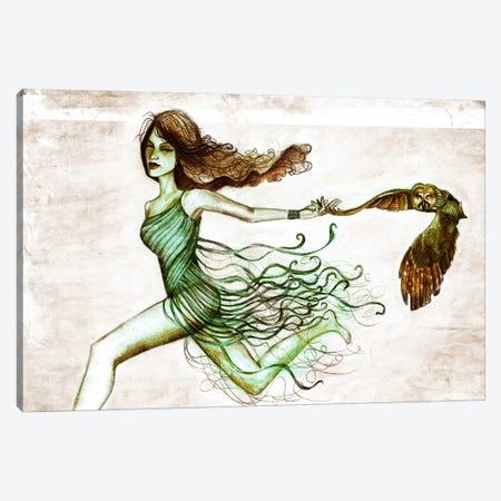Owl III Canvas Print #JMI45} by Jami Goddess Canvas Print