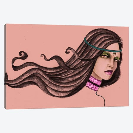 Pink Soul I Canvas Print #JMI46} by Jami Goddess Art Print