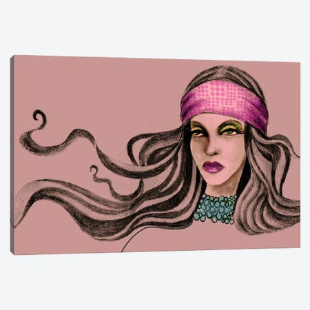 Pink Soul II Canvas Print #JMI47} by Jami Goddess Canvas Print