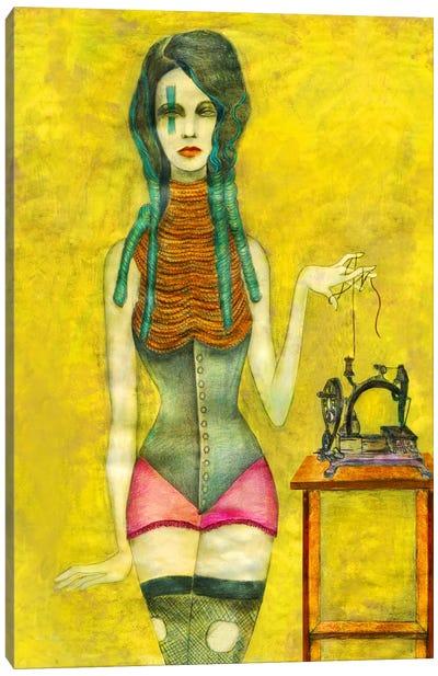 Sewing Machine Canvas Print #JMI56