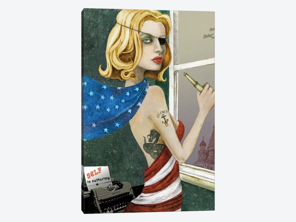 The Spy by Jami Goddess 1-piece Canvas Print