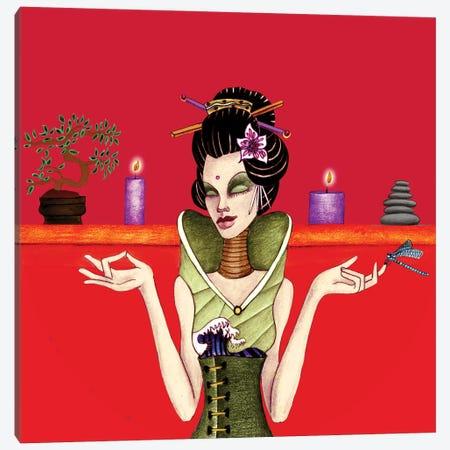 Zen Mistress Canvas Print #JMI67} by Jami Goddess Canvas Art Print