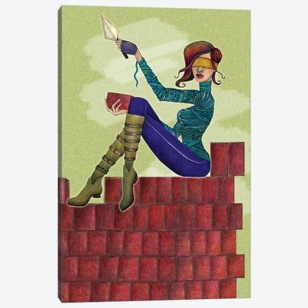 Build It Up Canvas Print #JMI6} by Jami Goddess Canvas Artwork