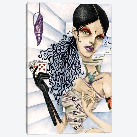 Cassandra Canvas Print #JMI7} by Jami Goddess Canvas Art