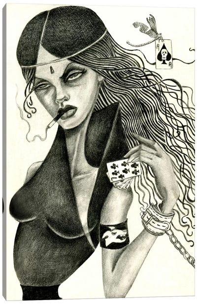 Cassandra II (Drawing) Canvas Art Print