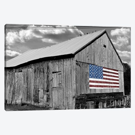 Flags of Our Farmers IV 3-Piece Canvas #JML103} by James McLoughlin Canvas Art Print