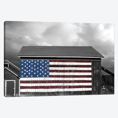 Flags of Our Farmers IX 3-Piece Canvas #JML104} by James McLoughlin Canvas Wall Art