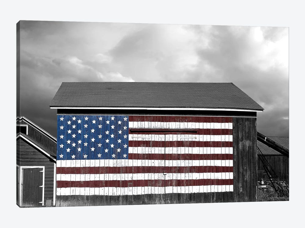 Flags of Our Farmers IX by James McLoughlin 1-piece Canvas Print