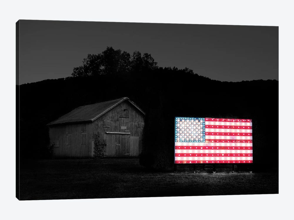 Flags of Our Farmers VI by James McLoughlin 1-piece Canvas Print