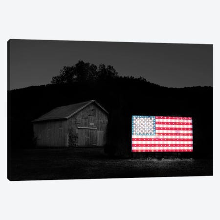 Flags of Our Farmers VI 3-Piece Canvas #JML106} by James McLoughlin Canvas Art