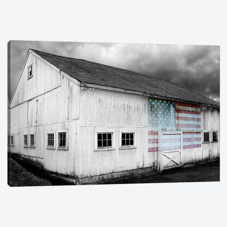 Flags of Our Farmers VIII 3-Piece Canvas #JML108} by James McLoughlin Canvas Print