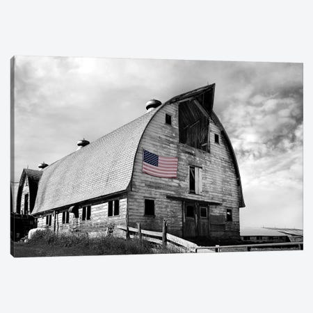 Flags of Our Farmers X 3-Piece Canvas #JML109} by James McLoughlin Art Print