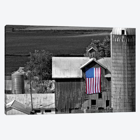 Flags of Our Farmers XI 3-Piece Canvas #JML110} by James McLoughlin Canvas Artwork
