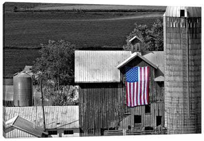 Flags of Our Farmers XI Canvas Art Print