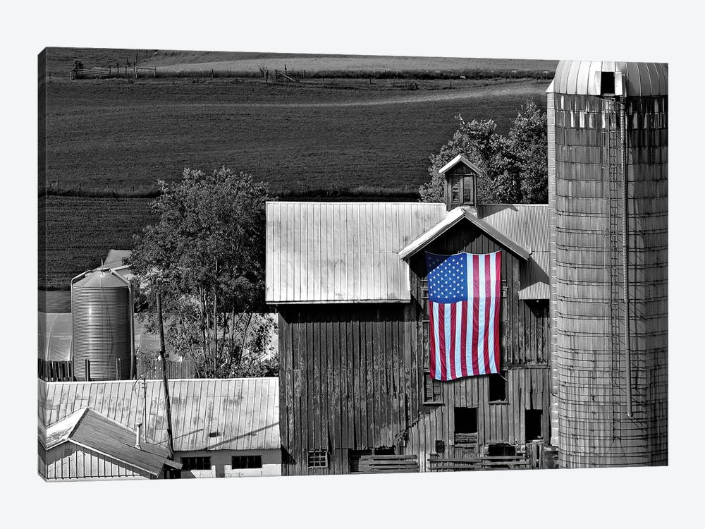 Flags of Our Farmers XI by James McLoughlin 1-piece Canvas Wall Art