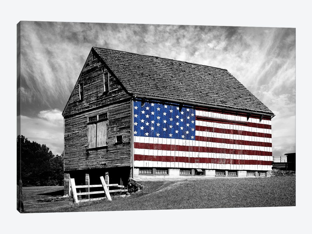 Flags of Our Farmers XIV 1-piece Canvas Art Print