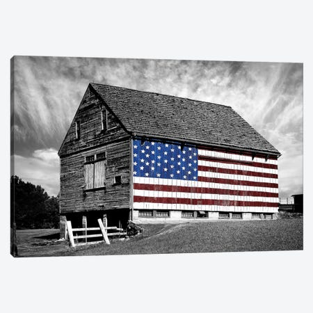 Flags of Our Farmers XIV 3-Piece Canvas #JML113} by James McLoughlin Canvas Wall Art