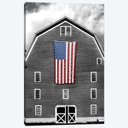 Flags of Our Farmers XIX 3-Piece Canvas #JML114} by James McLoughlin Art Print