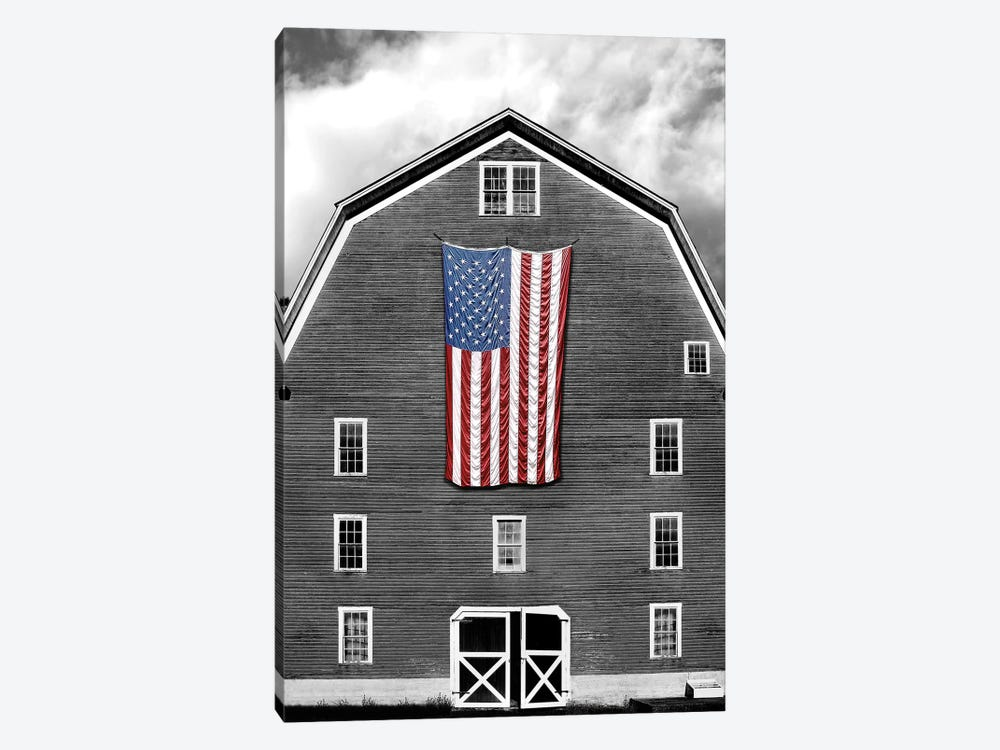 Flags of Our Farmers XIX by James McLoughlin 1-piece Canvas Artwork