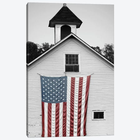 Flags of Our Farmers XVII Canvas Print #JML116} by James McLoughlin Canvas Print