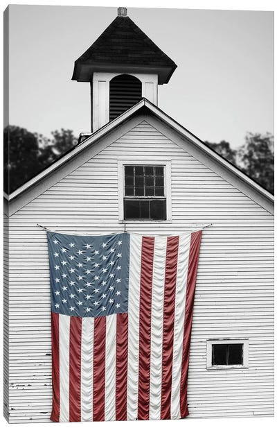 Flags of Our Farmers XVII Canvas Art Print
