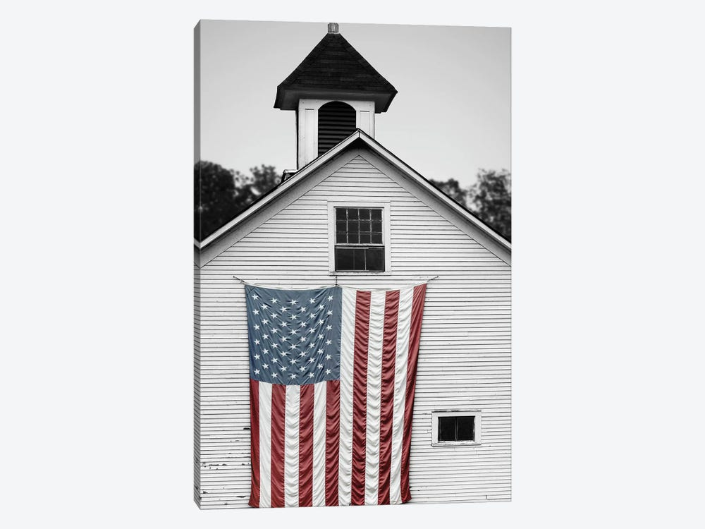 Flags of Our Farmers XVII by James McLoughlin 1-piece Canvas Wall Art