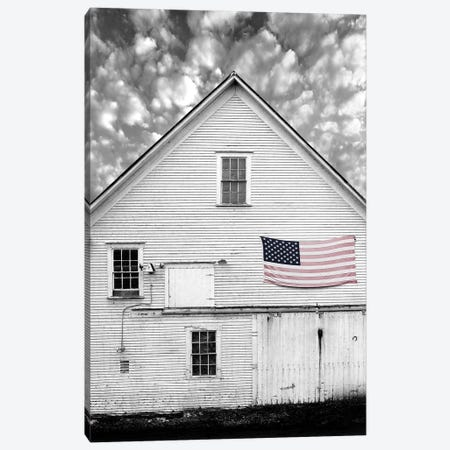 Flags of Our Farmers XVIII 3-Piece Canvas #JML117} by James McLoughlin Canvas Print