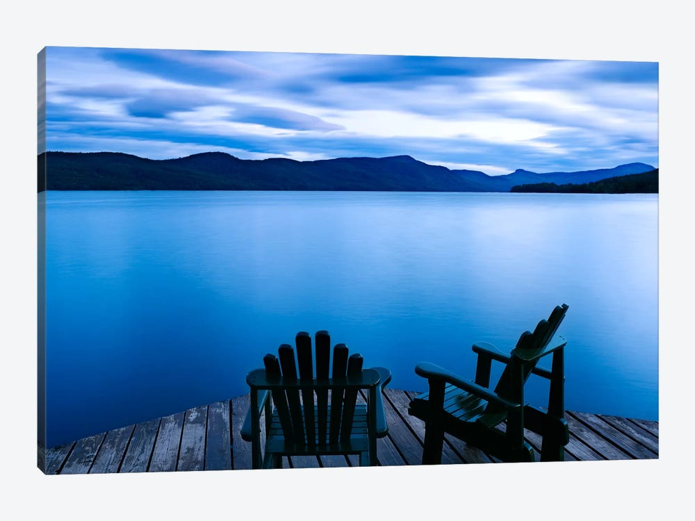 Scene On The Water V by James McLoughlin 1-piece Canvas Wall Art