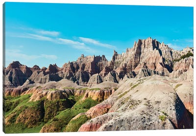 Badlands II by Canvas Prints by James McLoughlin Canvas Art Print