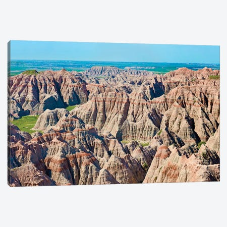 Badlands IV Canvas Print #JML127} by James McLoughlin Canvas Art