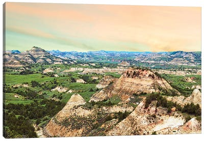Badlands V by Canvas Prints by James McLoughlin Canvas Art Print