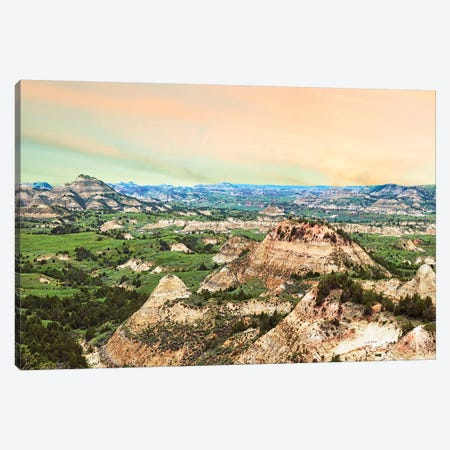 Badlands V Canvas Print #JML128} by James McLoughlin Art Print