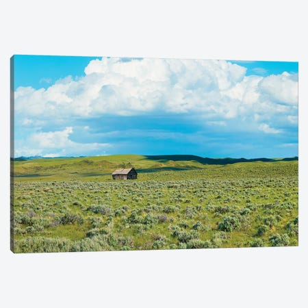 Barn Scene I Canvas Print #JML132} by James McLoughlin Canvas Wall Art