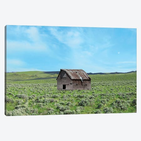 Barn Scene III Canvas Print #JML133} by James McLoughlin Canvas Art