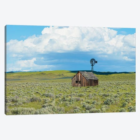 Barn Scene IV Canvas Print #JML134} by James McLoughlin Canvas Print