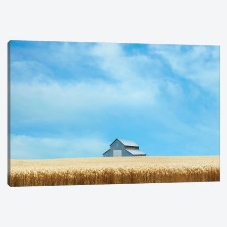 Barn Scene IX Canvas Print #JML135} by James McLoughlin Canvas Print