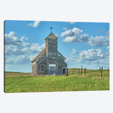 Barn Scene V Canvas Print #JML136} by James McLoughlin Canvas Art Print